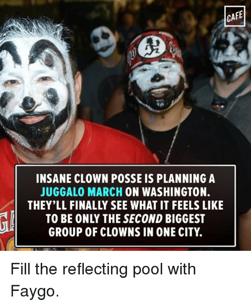 Cafe Insane Clown Posse Is Planning A Juggalo March On Washington To