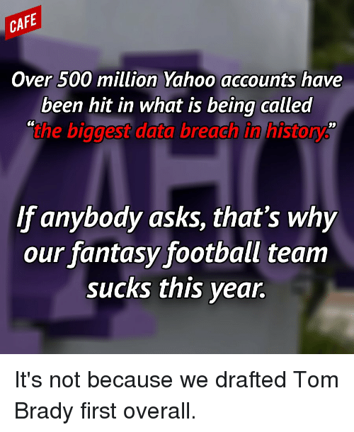 CAFE Over 500 Million Yahoo Accounts Have Been Hit in What