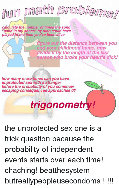when can you have unprotected sex