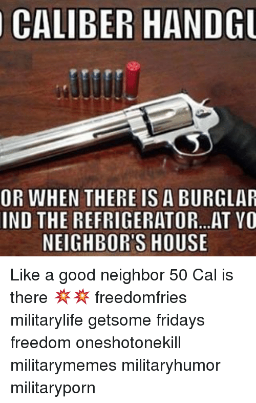caliber handgu or when there is a burglar ind the 17713992 ✅ 25 best memes about like a good neighbor like a good,Like A Good Neighbor Statefarm Is There Meme