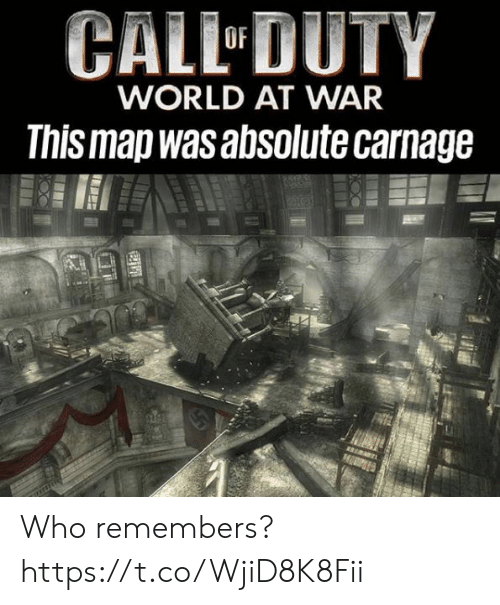 CALL DUTY WORLD AT WAR This Map Was Absolute Carnage Who ...