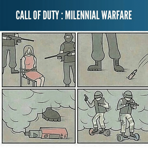 Memes, Call of Duty, and 🤖: CALL OF DUTY: MILENNIAL WARFARE