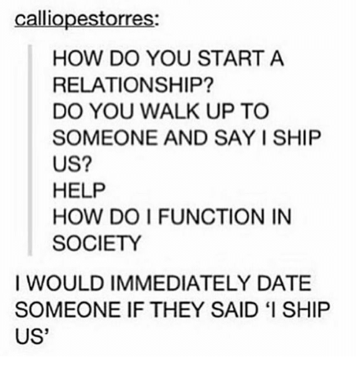 what to do when you start a relationship