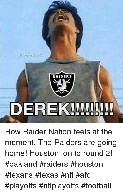 cam party raiders derek how raider nation feels at the 10880549 cam party raiders derek how raider nation feels at the moment the