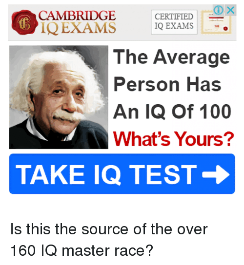 CAMBRIDGE 1Q EXAMS CERTIFIED 1Q EXAMS  - The Average Person Has an