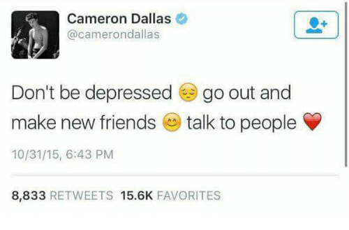 how to talk to cameron dallas