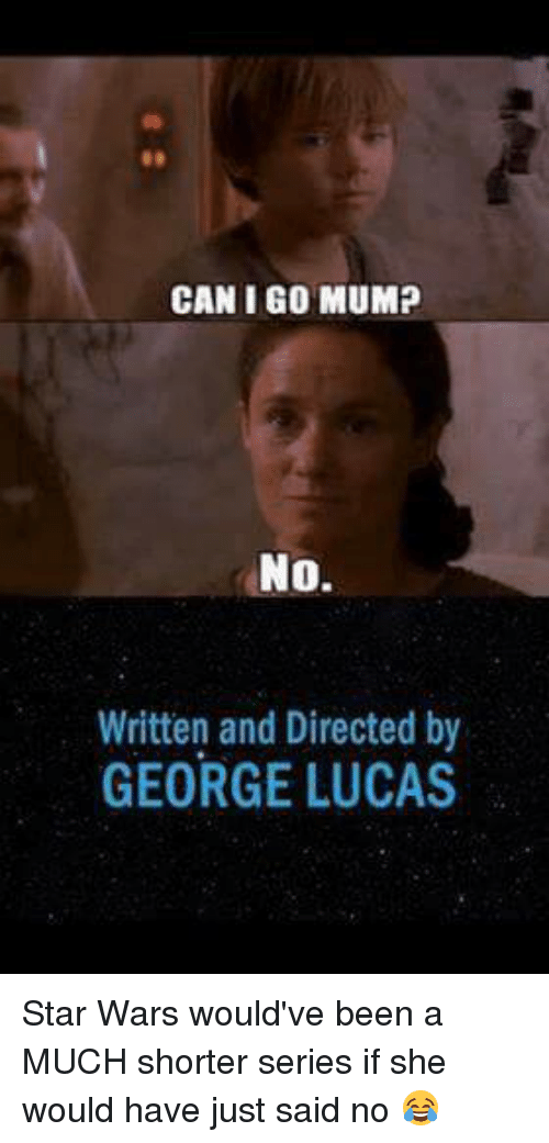 CAN I GO MUMP No Written And Directed By GEORGE LUCAS Star