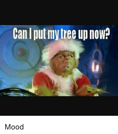 can i put my tree up now mood 28360781 can i put my tree up now? mood meme on me me