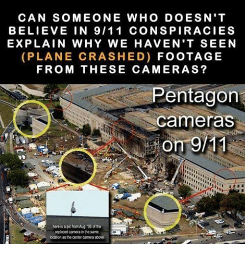 can some one who does n t believe in 911 conspiracies explain why we