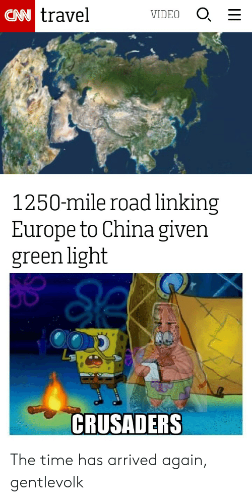 CAN Travel O VIDEO 1250-Mile Road Linking Europe to China