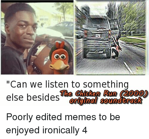 can we listen to something the chicken run 2000 else 1257837 ✅ 25 best memes about chicken run chicken run memes