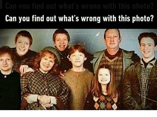 Can You Find Out What's Wrong With This Photo? | Meme on ME.ME