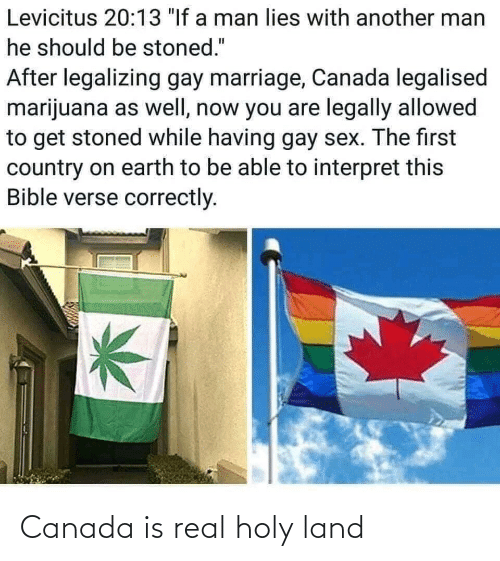 Canada, Real, and Holy: Canada is real holy land