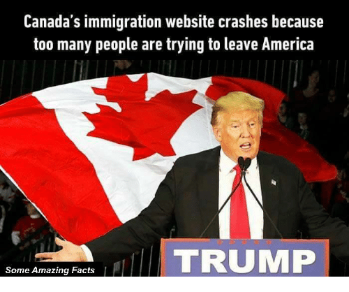 Canada's Immigration Website Crashes Because Too Many