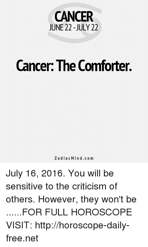 cancer weekly louisville horoscope