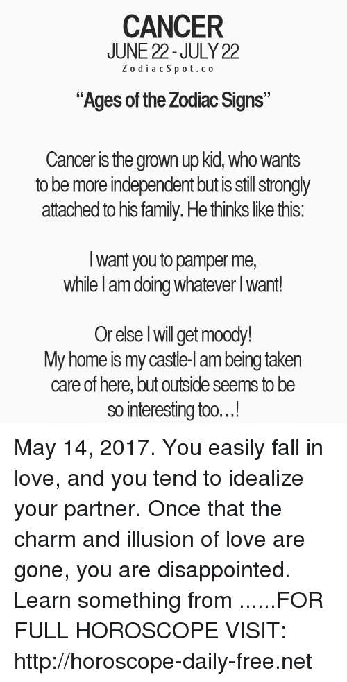 cancer horoscope for today independent