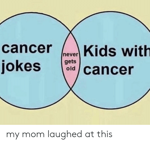 Cancer, Jokes, and Kids: cancer nevel Kids with  jokes cancer my mom laughed at this