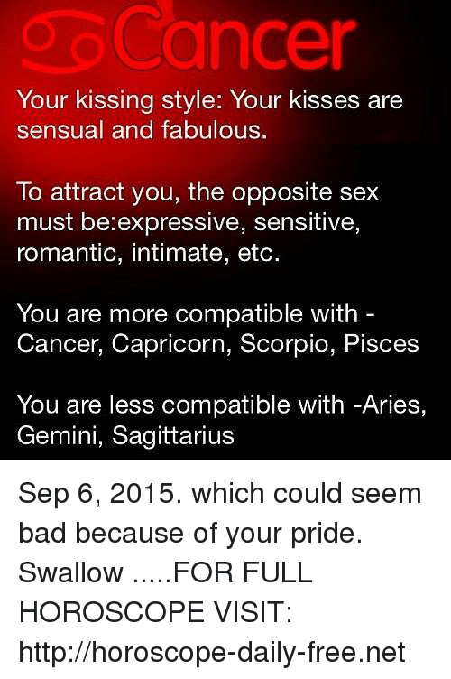 Pisces and cancer sexual compatibility