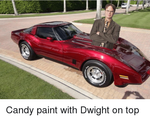 Candy, The Office, and Paint