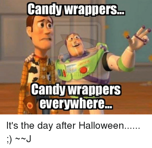 Candy Wrappers Candy Wrappers So Everywhere It\u0027s the Day