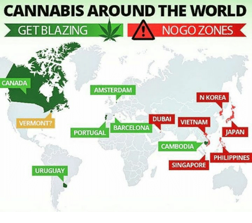 Cannabis around the world get blazing nogo zones canada amsterdam n barcelona memes and amsterdam cannabis around the world get blazing nogo zones canada gumiabroncs Choice Image