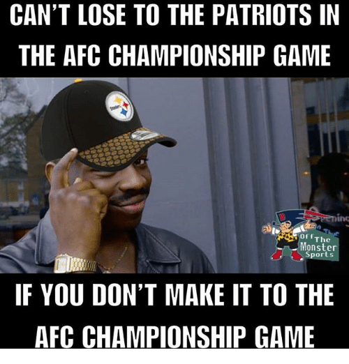 cant lose to the patriots in the afc championship game 30266645 can't lose to the patriots in the afc championship game or the