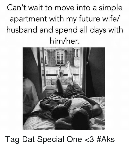 Can't Wait to Move Into a Simple Apartment With My Future