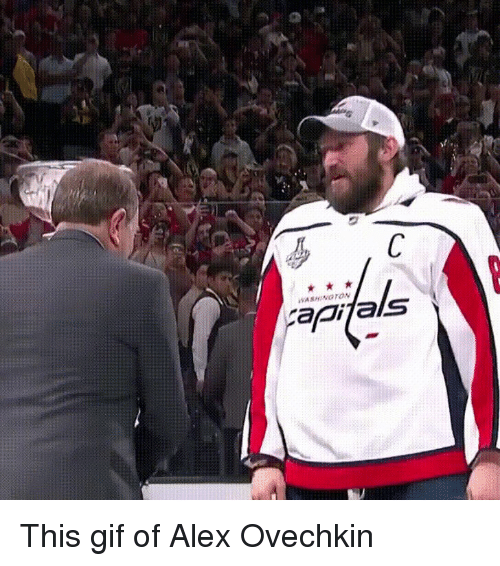 Capifals This Gif of Alex Ovechkin | Gif Meme on ME ME