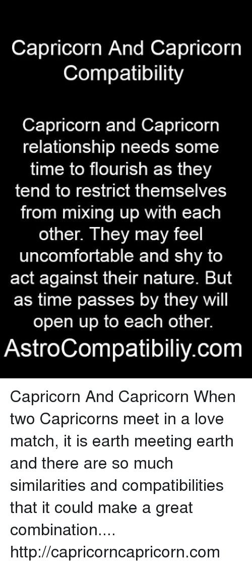 Capricorn and Capricorn compatibility readings