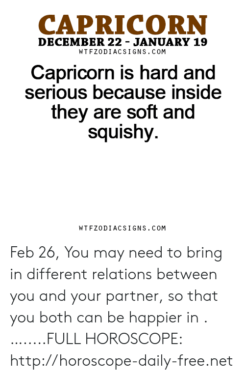 CAPRICORN Capricorn Is Hard and They Are Soft and DECEMBER