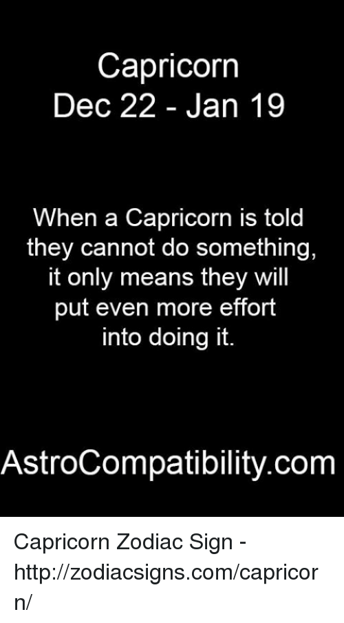 what does capricorn