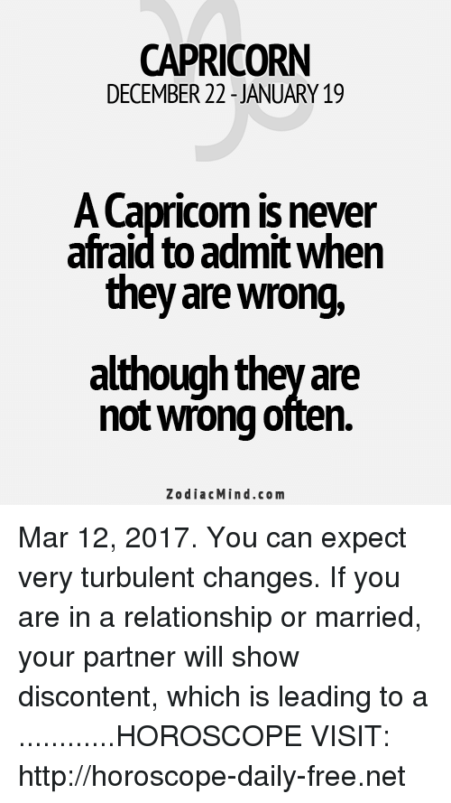 march 12 horoscope capricorn capricorn