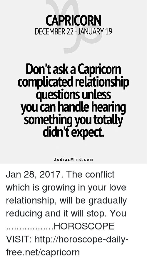 Love and Compatibility for January 15 Zodiac