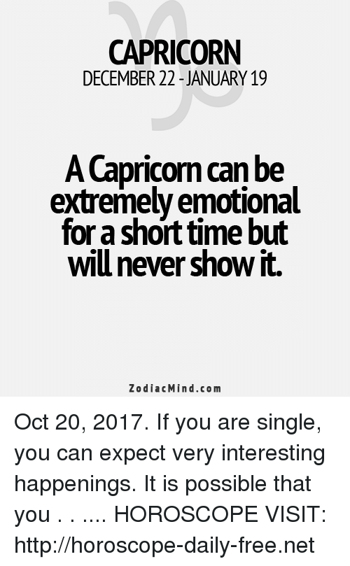 capricorn single weekly horoscope