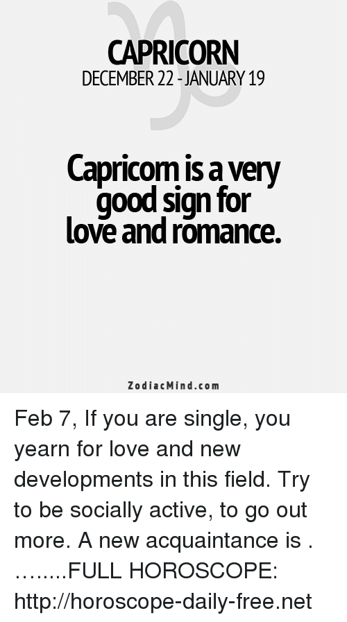 CAPRICORN DECEMBER 22 -JANUARY19 Capricom Is a Very Good