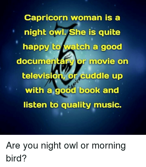 how to make a capricorn woman happy