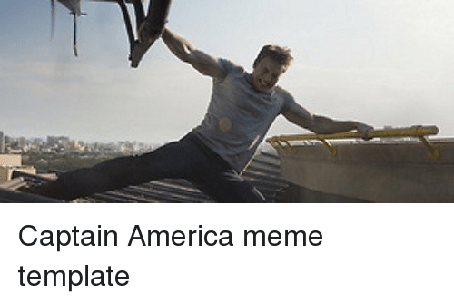 Captain America Meme Template America Meme On Me Me