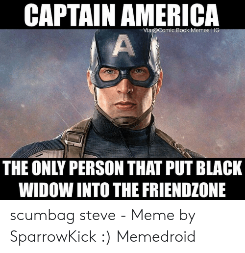 Captain America Via Comicbookmemes Ig The Only Person That