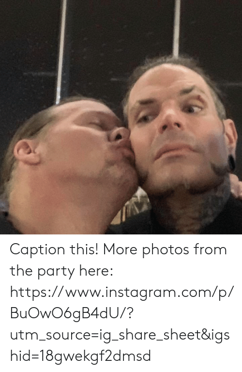 Instagram, Party, and Com: Caption this! More photos from the party here: https://www.instagram.com/p/BuOwO6gB4dU/?utm_source=ig_share_sheet&igshid=18gwekgf2dmsd