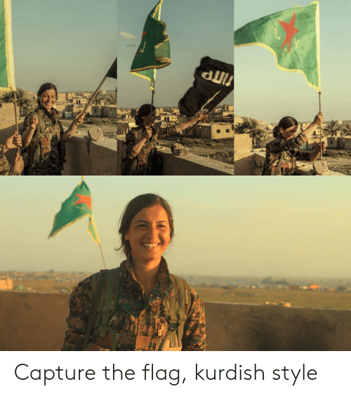 Kurdish, Style, and  Flag: Capture the flag, kurdish style