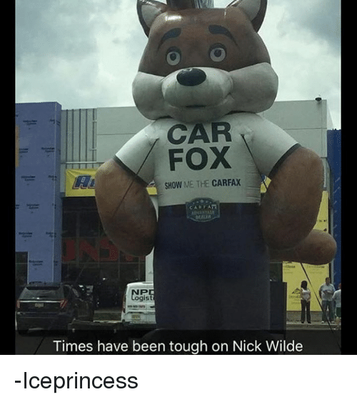 Car Fox Show Me The Carfax Eru Is Times Have Been Tough On Nick