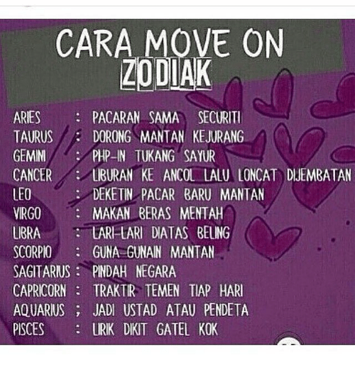 Cara move on zodiak aries pacaran sama securiti dorong mantan aquarius aries and capricorn cara move on zodiak aries pacaran sama securiti dorong reheart Images