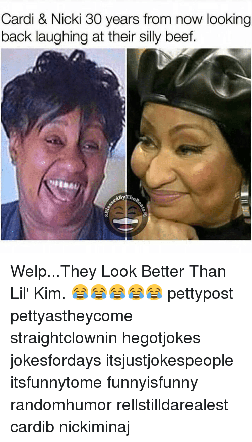 Cardi Nicki 30 Years From Now Looking Back Laughing At Their Silly