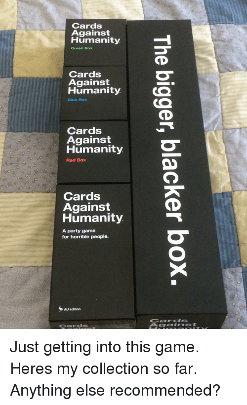 Other Card Games & Poker Capable Cards Against Humanity Blue Box High Quality And Inexpensive