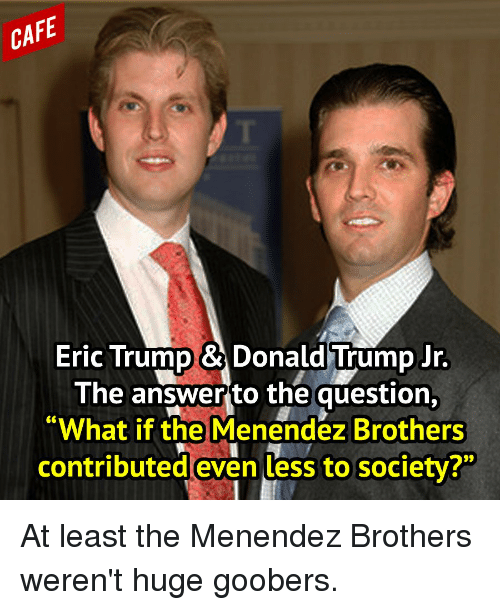 care eric trump donald trump jr the answer to 11102409 care eric trump & donald trump jr the answer to the question what
