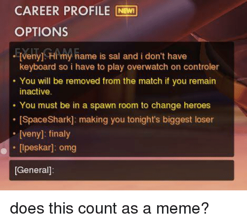Match change profile name