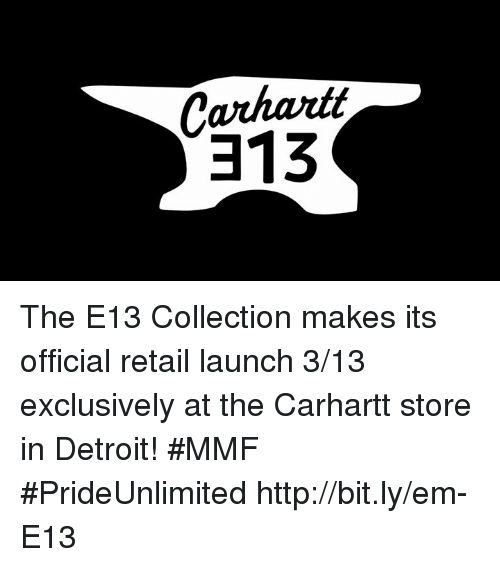 Carhart the E13 Collection Makes Its Official Retail Launch