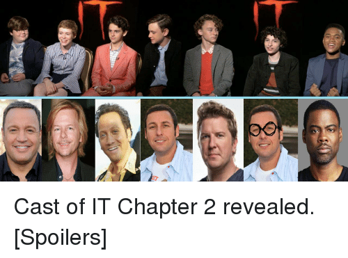 Cast of it chapter 2