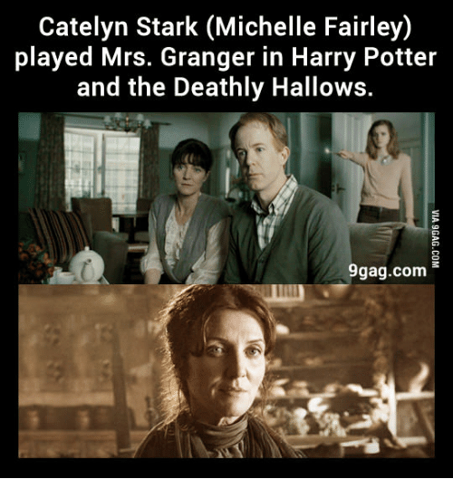 catelyn stark michelle fairley played mrs granger in harry potter 13996886 catelyn stark michelle fairley played mrs granger in harry potter