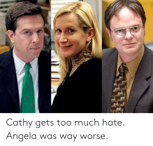 Cathy Gets Too Much Hate Angela Was Way Worse | the Office